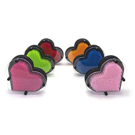 Гвозди ART-PIN Сердце M пластик, фото 2