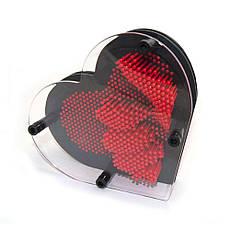 Гвозди ART-PIN Сердце M пластик, фото 3
