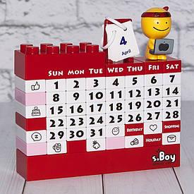 Календар Конструктор (червоний)