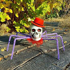 Павук Королева темряви (бузковий) 09951