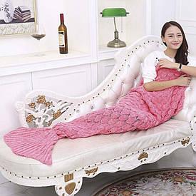 Плед акриловий Русалка рожевий 81337