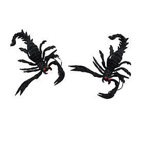Резиновый скорпион черный
