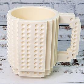 Чашка конструктор (белая)