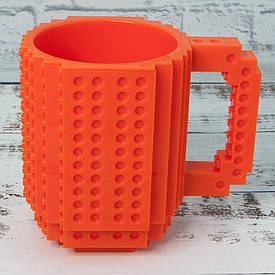 Чашка конструктор (оранжевая)