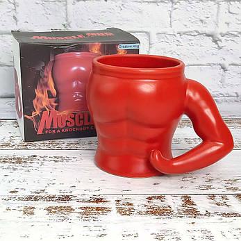 Чашка Бицепс (красная), фото 2