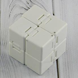 Кубик антистрес Infinity Cube (білий)
