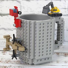 Чашка конструктор (серая)