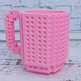 Кружка конструктор (розовая)