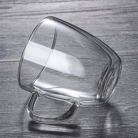Чашка з подвійними стінками Classik 350 ml