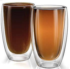 Склянку з подвійними стінками Classik ml 450