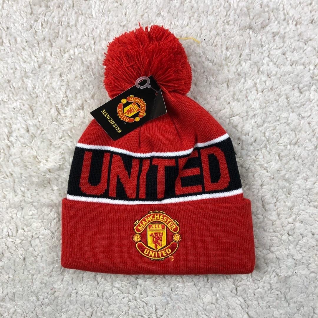 Мужская футбольная шапка Манчестер Юнайтед, красная