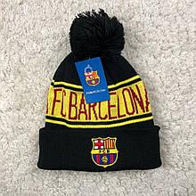 Мужская футбольная шапка Барселона, черная
