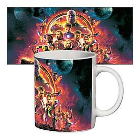 Чашка з принтом 63311 Імперія Марвел