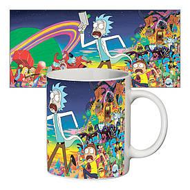 Чашка з принтом 63404 Rick and Morty #1