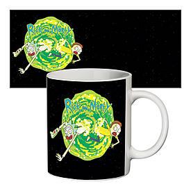 Чашка з принтом 63405 Rick and Morty #2