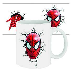 Чашка з принтом 63313 Спайдермен