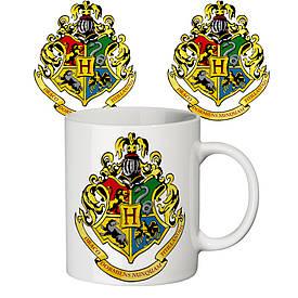 Чашка з принтом 63305 Гаррі Поттер Хогвартс