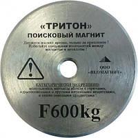 ПОИСКОВЫЙ МАГНИТ F-600 ТРИТОН Односторонний Сила: 700кг + ТРОС в ПОДАРОК! + БЕСПЛАТНАЯ ДОСТАВКА