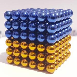 Неокуб NeoCube Україна жовто-блакитний [5мм * 216 шариков] + Металлическая Коробка в Подарок