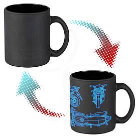Чашка-хамелеон 66053 ЧРЖ Ducati neon (чорна)