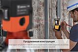 3D DEKO LL12-HV 🔹 12 линий 360 градусов ❌ КРАСНЫЙ ЛУЧ ➜до 50м 🔴 лазерный уровень нивелир + 2 БАТАРЕИ 2000mAh, фото 7