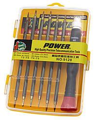 Набор отверток Power 9128 для мобильных телефонов