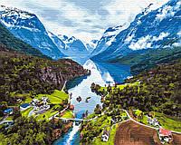 Картина по номерам Brushme Альпы