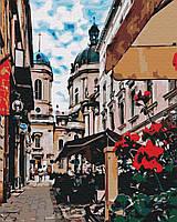 Картина по номерам Brushme Львовская улочка