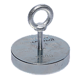 Поисковый магнит F-300 Пират односторонний + ТРОС 🎁, фото 2