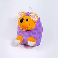 Рюкзак детский Золушка Мышка 32см Сиреневый 267-3, КОД: 1463648