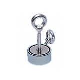 Поисковый магнит F-80х2 Пират двухсторонний + ТРОС 🎁, фото 2