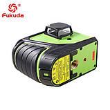 ➤ ЗЕЛЕНИЙ ПРОМІНЬ ➜ Лазерний рівень Fukuda MW-93T-3GJ 3D 12 ліній, фото 7