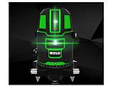 Лазерный уровень WOSAI WS-X5 5 линий 6 точек ЗЕЛЕНАЯ ЛИНИЯ нивелир, фото 4