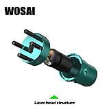 Лазерный уровень WOSAI WS-X5 5 линий 6 точек ЗЕЛЕНАЯ ЛИНИЯ нивелир, фото 8