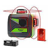 Лазерный уровень Huepar 3D Red HP-603CR 12 линий ➜ Красные лучи ➜ ОРИГИНАЛ ➜ ГАРАНТИЯ: 1 год, фото 6
