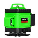 4D Лазерный уровень Puerci 4D 16 линий ➜ ПУЛЬТ ➜ Зеленые лучи ➜ ГАРАНТИЯ: 1 год, фото 2
