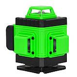 4D Лазерный уровень Puerci 4D 16 линий ➜ ПУЛЬТ ➜ Зеленые лучи ➜ ГАРАНТИЯ: 1 год, фото 3