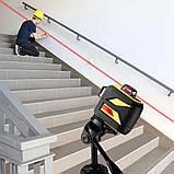 Лазерный уровень FIRECORE 3D F93TR 12 линий + ТРЕНОГА + КРОНШТЕЙН ➜ КРАСНЫЕ лучи ➜ МАКСИМАЛЬНАЯ КОМПЛЕКТАЦИЯ, фото 6