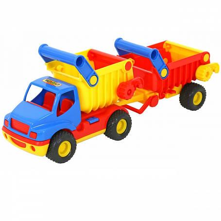 Самоскид вантажівка 67 см Wader 6607, фото 2