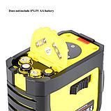 Лазерный уровень FIRECORE F93T-XR 12 линий + ТРЕНОГА➜ Красные лучи ➜ ОРИГИНАЛ ➜ ГАРАНТИЯ: 1 год КЕЙС, фото 2