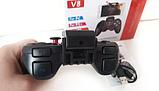 Беспроводной Bluetooth Геймпад V-8 Джойстик для ANDROID, iOS, PC - с держателем для смартфона в комплекте, фото 3