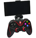 Беспроводной Bluetooth Геймпад V-8 Джойстик для ANDROID, iOS, PC - с держателем для смартфона в комплекте, фото 5