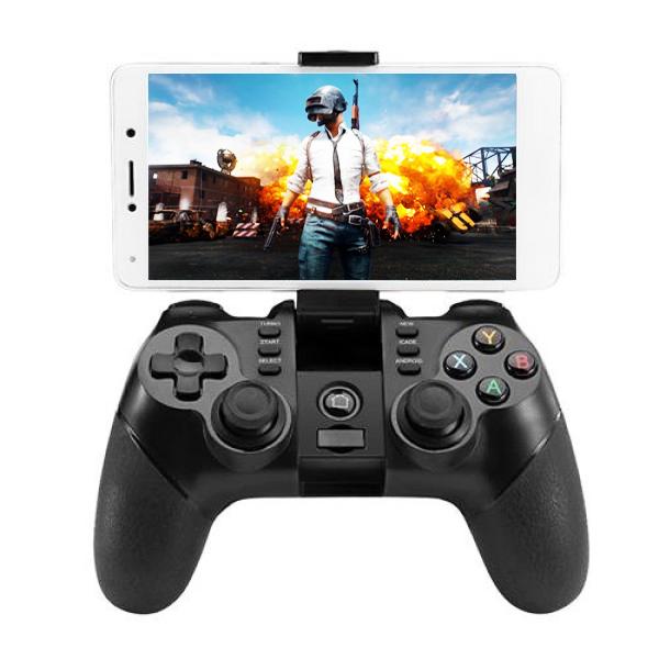 Беспроводной Геймпад Джойстик Bluetooth ZM-X6 + держатель для смартфона - для PC iOS Android Smart TV