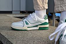 Мужские кроссовки Louis Vuitton Trainer White ( Реплика ), фото 3