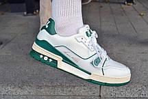 Мужские кроссовки Louis Vuitton Trainer White ( Реплика ), фото 2