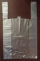 Прозрачные пакеты майка 30*50 см (возможно нанесение лого)