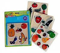 Набор многоразовых наклеек Crayola Mini Kids Овощи и фрукты 180 шт 81-2010, КОД: 2444657