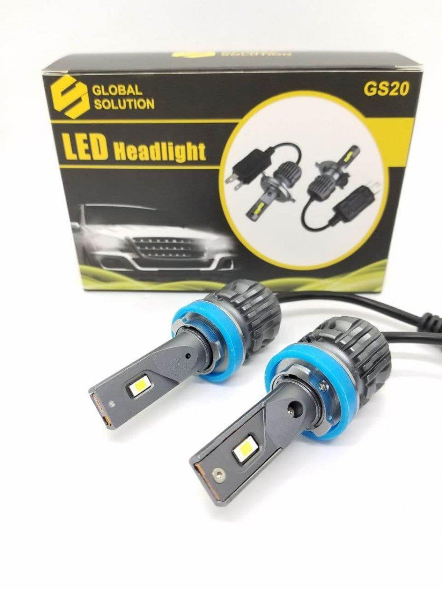 Led лампи GLOBAL SOLUTION GS20 H1 24W 6000LM 6000K (P98101)