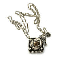 Аромакулон с камнями бронзовый 4х2.5х1.5 смD 4126D, КОД: 1368294