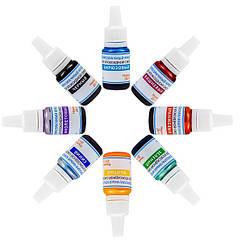 Светопрозрачные красители эпоксидной смолы, набор из 8 цветов, по 5 г, КОД: 1861704